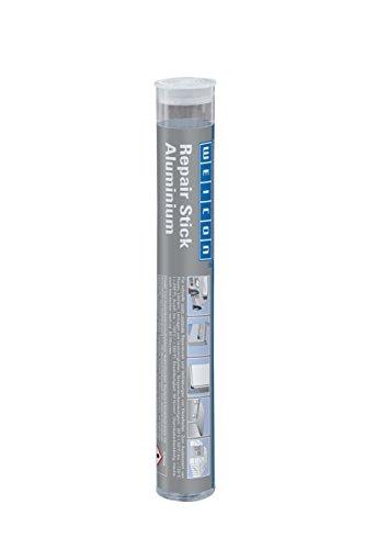 WEICON Repair Stick / Aluminium / 115g / 2 Komponenten Spezial Kleber / Epoxidharz / Für schnelle und nicht rostende Reparaturen von Metallteilen.