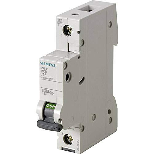 Siemens 5SL4106-6 Miniature circuit breaker B-type 1P - Stromunterbrecher (250/440, 6 A, 18 mm, 76 mm, 90 mm, 145 g)