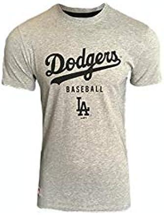Mixte Adulte /T-Shirt Ligne Los Angeles Dodgers New Era Team Apparel Classic Tee Losdod/
