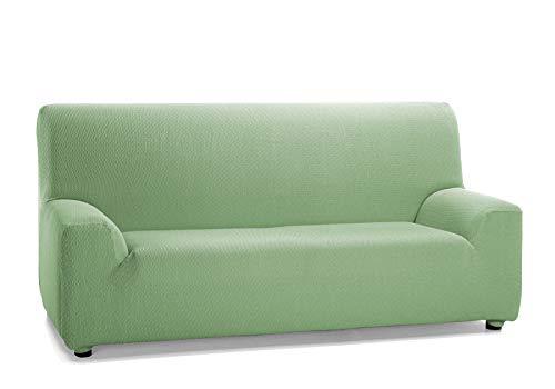 Martina Home Tunez - Copridivano elastico per divano, verde (mus), 2 posti (120-190 cm)