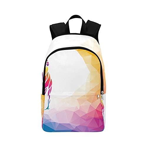 Business Casual Bag Silhouette Frau Golfspieler Eps 10 Durable Water Resistant Classic Daypacks Für Mädchen Taschen Für Sportreisen Daypack Taschen Zur Schule