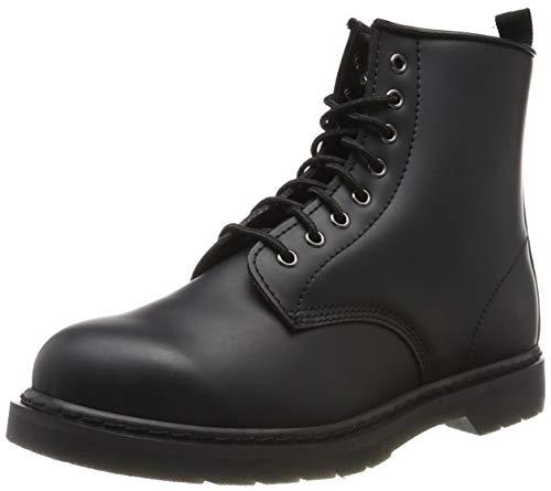 Urban Classics Herren Heavy Lace Boot Stiefelette, Negro, 43 EU