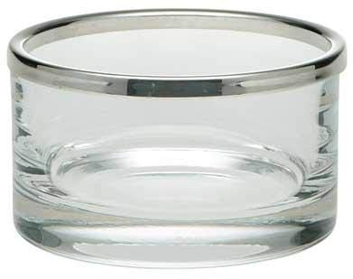 Ercuis, Escapade Collection, ECLAT Straight Glass Bowl with Rim