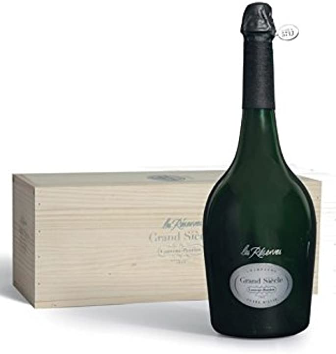 "laurent-perrier champagne a.o.c. ""les réserves grand siècle"" magnum laurent perrier bollicine francia 12,0% b07ddnfn1d"