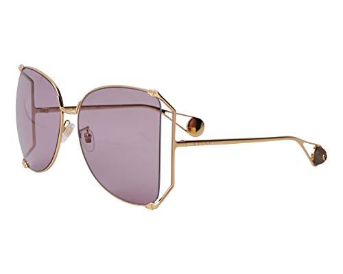Gucci Sonnenbrillen (GG-0252-S 013) gold - pflaumenfarben