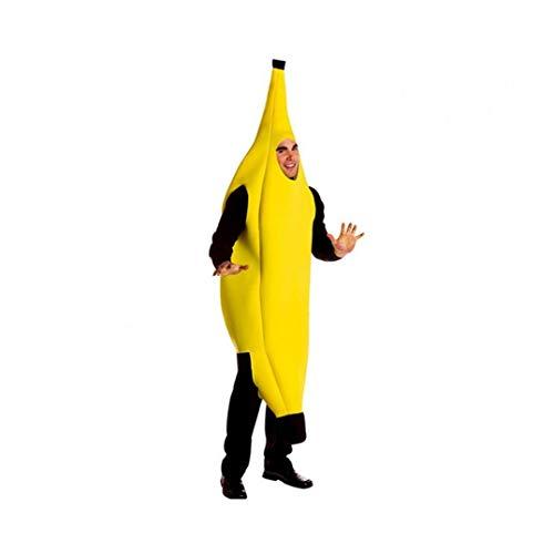 tJexePYK Luz De Plátano Traje Peso De Disfraces De Halloween Vestidos De Alimentos hasta Cosplay Juego De Roles,