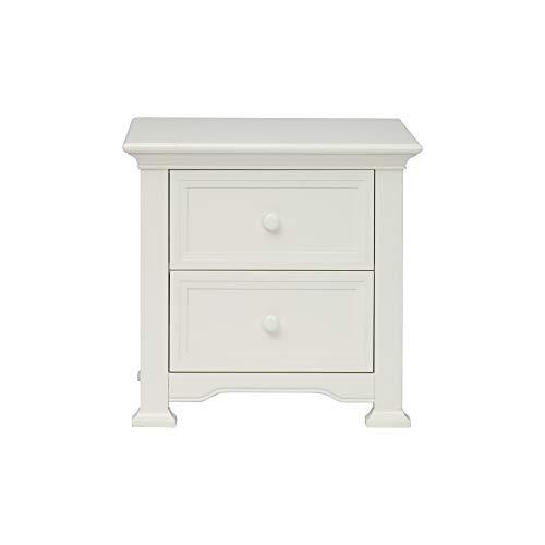 Centennial Medford 2 Drawer Nightstand White