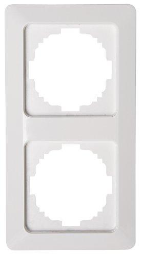 Kopp  Abdeckrahmen 2-fach Milano weiß