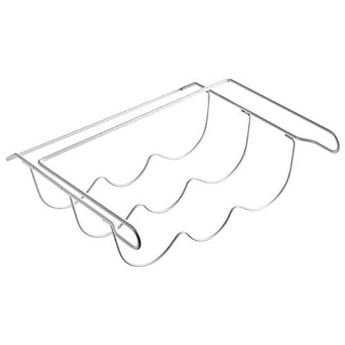 SOLUSTRE Flasche & Weinregal Kühlschrank Bierregal Eisen Hängegestell Kühlschrank Aufbewahrungsorganisator für Die Küche zu Hause
