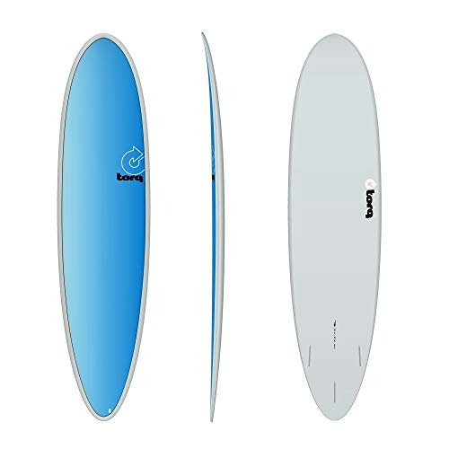 TORQ Tabla de surf Epoxy TET 7.6 Funboard Full Fade Mini Malibu
