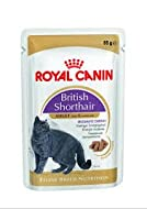 ROYAL CANIN 24 x 85g Pouch Cat British Shorthair with Gravy Wet Pouches Sold by Maltby's