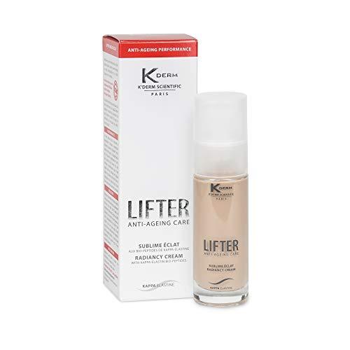 K'Derm - Lifter Sublime Eclat - Soin Anti-Age aux Bio-Peptides de Kappa-Elastine - BB Crème Anti-Rides - Soin du Visage - Flacon-Pompe - 30 ml