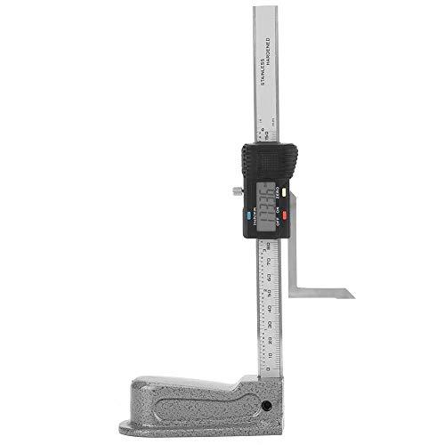 0 – 150 mm Digitaler Höhenmesser, Messgerät für Tiefenmessung, mit Basis aus Edelstahl