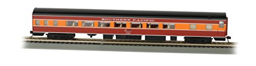 Bachmann Industries Southern Pacific Daylight Smooth-Side Coach Car with Lighted Interior (HO Scale), 85'