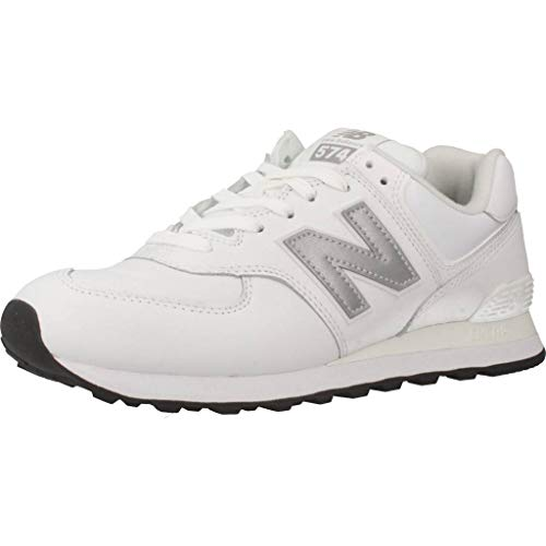 New Balance Herren 574v2 Sneaker, Weiß (Munsell White/Nimbus Cloud Lpw), 45 EU