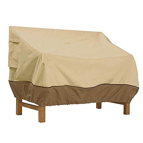FCZBHT Couverture de Meubles De Plein Air Couverture De Canapé/Couverture Double Chaise, Imperméable Crème Solaire Housse De Protection, Disponible Toute L'année Garde poussière