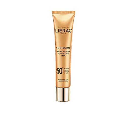 Lierac BB Cream Viso SPF 50+ Anti Età, Protezione UVB, UVA, Infrarossi, per Tutti i Tipi di Pelle, Formato da 40 ml