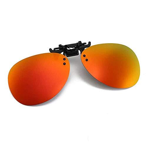 Nachtsichtbrille zum FahrenAbnehmbare Nachtsichtbrille zum Fahren Metallpolarisierte Clip-On-Brille Sonnenbrille Autofahrerbrille