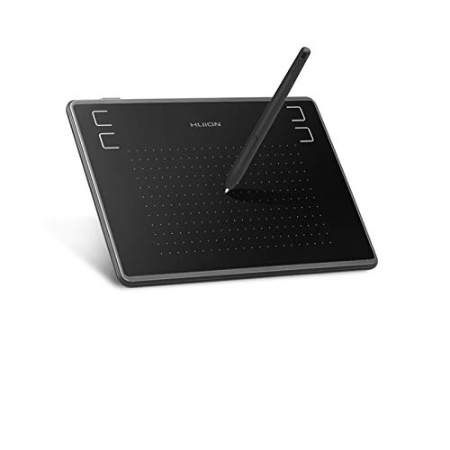 Drawing tablet 4x3 Inch Ultra-light Digital Pen Tablet Graphics Drawing Board With Battery-free Stylus (for OSU) (Color : Black)