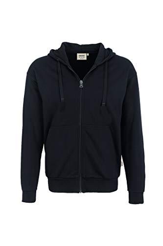 HAKRO Jacke mit Kapuze - 605 - schwarz - Größe: M