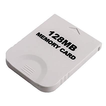 WiCareYo 128M Speicherkarte für Wii NGC Gamecube Konsole