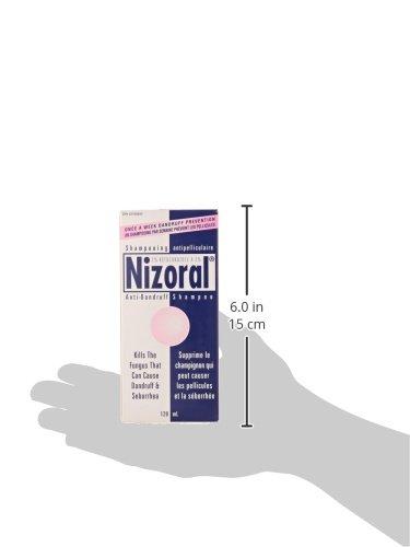 Shampoing Antipelliculaire Nizoral Ketoconazole, 120ml - 5