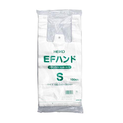 シモジマ レジ袋 半透明 EFハンド 05459 1セット 4000枚:100枚×40袋 23-7268-01