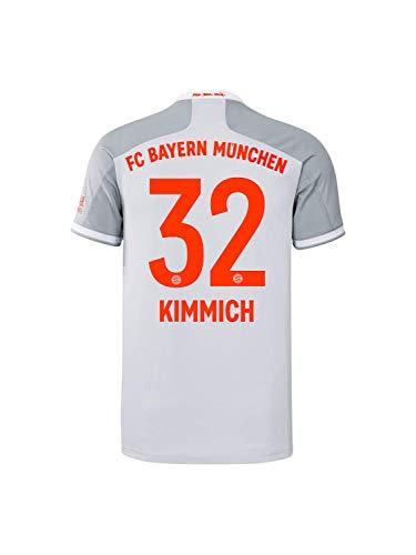 FC Bayern München Kinder Away-Trikot Auswärts Saison 2020/21, Gr. 152, Joshua Kimmich
