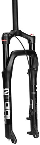 MGE Mountain Bike Suspension Fork,26 Inch Magnesium Alloy Oil Pressure Absorber Snow Beach Bicycle Accessories 135mm Applicable 4.0 Tires