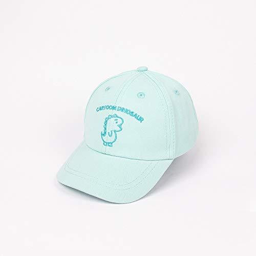 Sombrero para niños otoño Coreano Color Caramelo algodón Dinosaurio Bordado Dibujos Animados niño niña Gorra de béisbol Sombrero de bebé