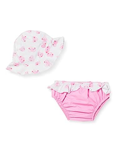 Tuc Tuc CULETÍN BAÑO Y Gorro Sugar Babe Bragas de Bikini, Rosa, 12-18M para Bebés