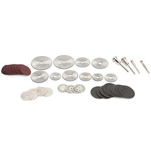 para herramienta rotativa, disco de corte de 65 piezas, accesorios de carpintero, ruedas de corte,