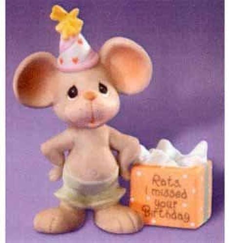 envío gratis Precious Moments Moments Moments Rats I missed your birthday by Precius Moments  Venta en línea de descuento de fábrica
