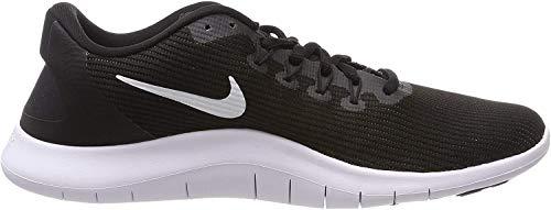 Nike Flex RN 2018 Men's Running Shoe, Black/White/Black, 7 M US