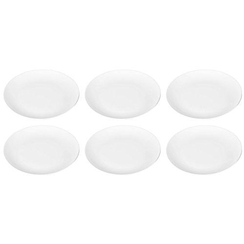 Arzberg Cucina Basic Weiss Speiseteller-Set 6tlg.