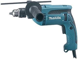 Makita HP1640 Taladro Percut. 13Mm 680W Llav, 680 W, 240 V, Multicolor