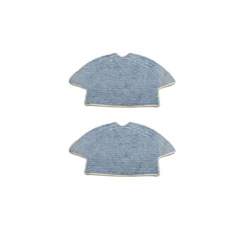 ADUCI Reemplazo 2 Piezas Mop Tela for 360 S6 de Barrido Aspirador de la robusteza Mopping cojín del paño de Trapo Accesorios Piezas