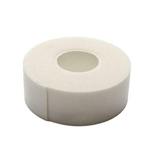 Wimpernverlängerung Microfoam Tape Klebeband Schaumstoff Augengelpads 3M Band, Stückzahl:1 Rolle, Farbton:Weiß