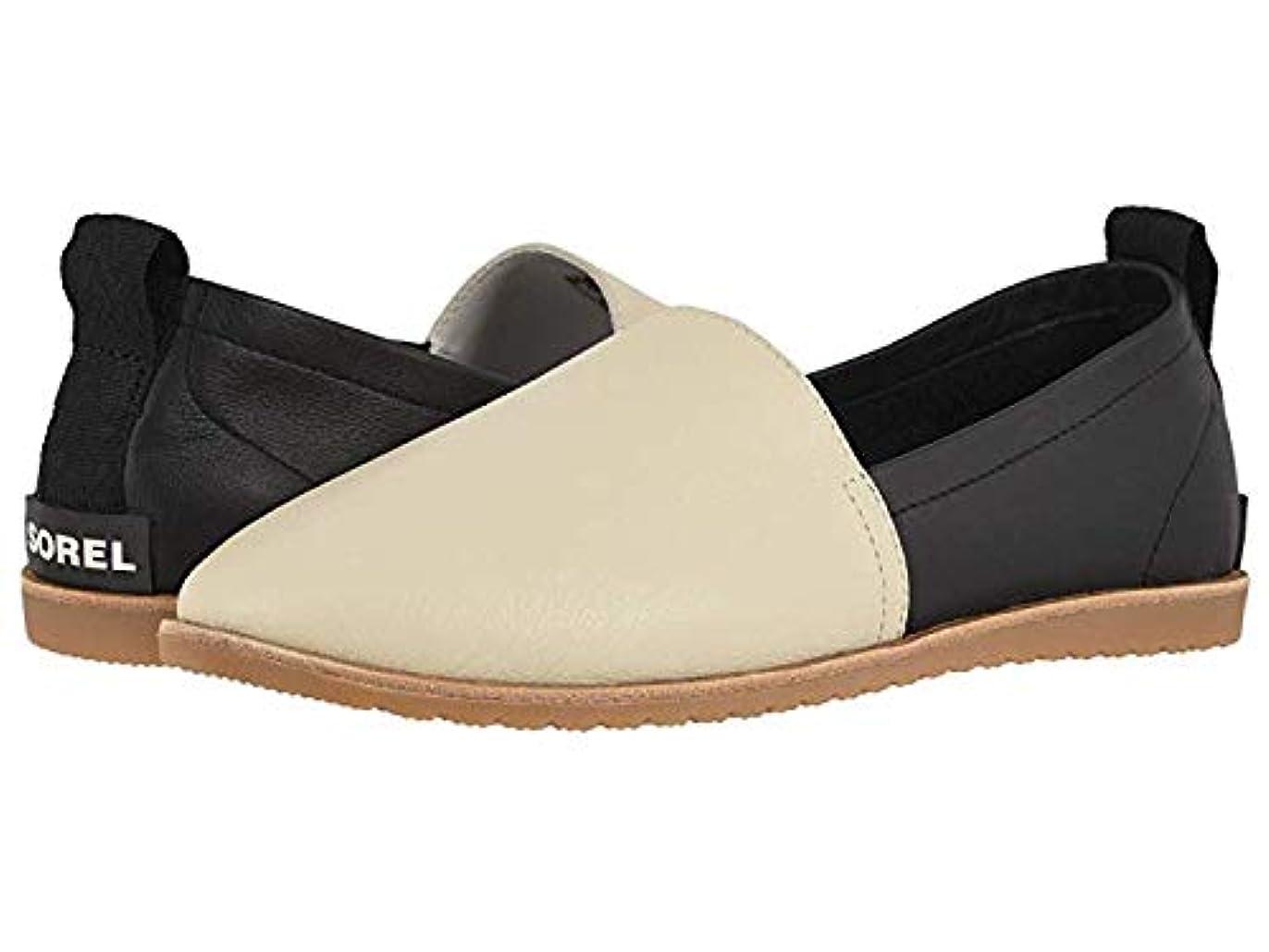 パースブラックボロウ司法電極レディースローファー?靴 Ella Slip-On Sea Salt B - Medium [並行輸入品]
