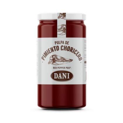 Dani - Pulpa de Pimiento Choricero (Capsicum Spp.) Especial para Salsas, Condimentos y Aliños- 125 Gramos