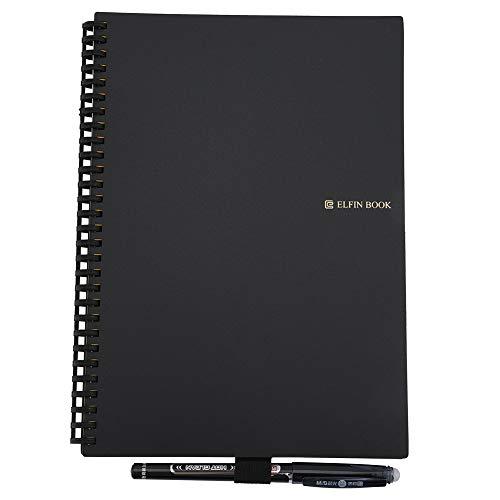 ZHHZ Cuaderno borrable reutilizable con bolígrafo para escribir dibujo y almacenamiento de aplicaciones (B5)