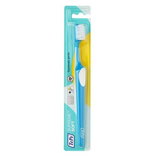 TePe-Spazzolino denti Suprme, Colori assortiti, 3 pezzi