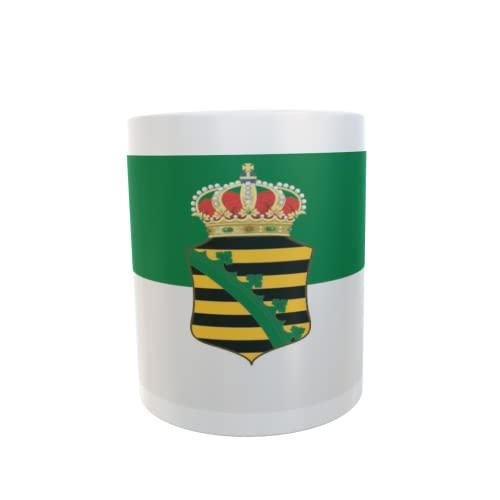U24 Tasse Kaffeebecher Mug Cup Flagge Sachsen-Altenburg