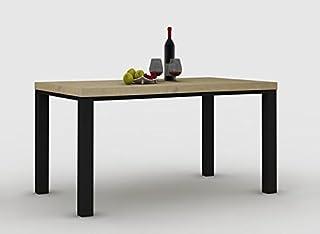 IDEA Table de sejour Baltimore en Chene Beaufort 160 cm