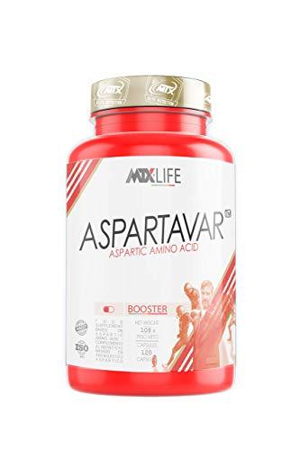MTX nutrition ASPARTAVAR 120 capsulas -...