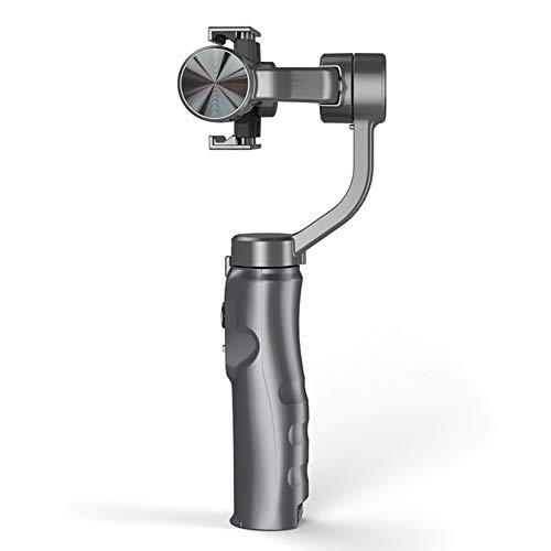 Lanceasy Smartphone stabiliserende gimbal, telefoon stabiliserende houder handgreep Gimbal stabilisator compatibel met iPhone Samsung-camera