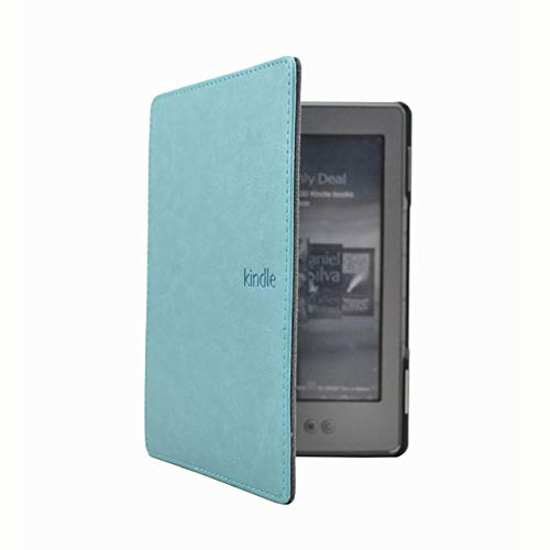 XXIUYHU 1PC Funda de Cuero para Amazon Kindle 4/5 E-Book Reader 6