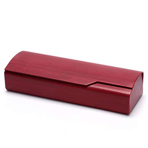 Eysee Brillenetui Hardcase für lesebrille outdoor Erwachsene und Kinder (Rot)