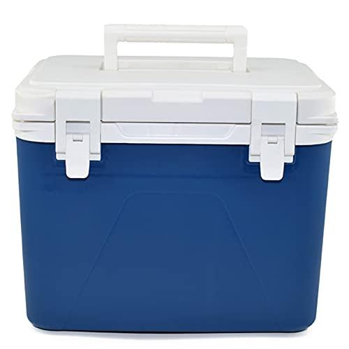 DAGCOT Enfriador de Picnic al Aire Libre Caja de Campa de múltiples propósitos de Gran Capacidad Duradero Sentado Pesca Pesca de Senderismo Camping Basking Bag Show Frese o Warm 10L (Color : Blue)