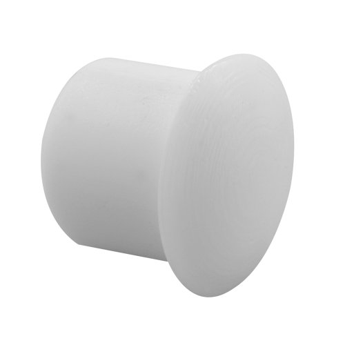 Prime-Line Products U 10033 Shelf Peg Hole Plugs, 5mm or approx 3/16 in, Plastic, White, Push-In (Pack of 48)